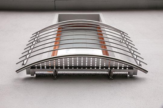 sabine lottes leichtmetall und stahlbau edelstahlbau. Black Bedroom Furniture Sets. Home Design Ideas